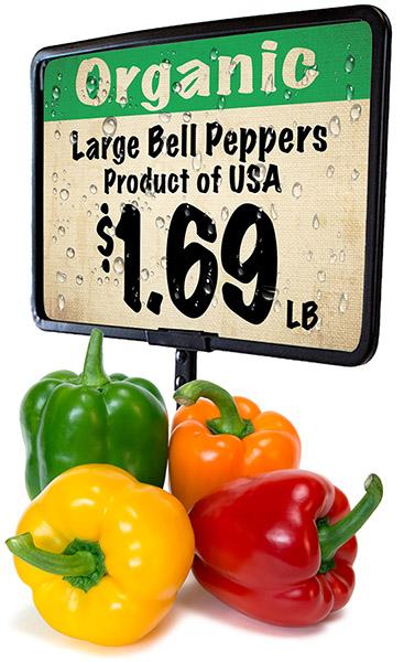 Organic Product Sign