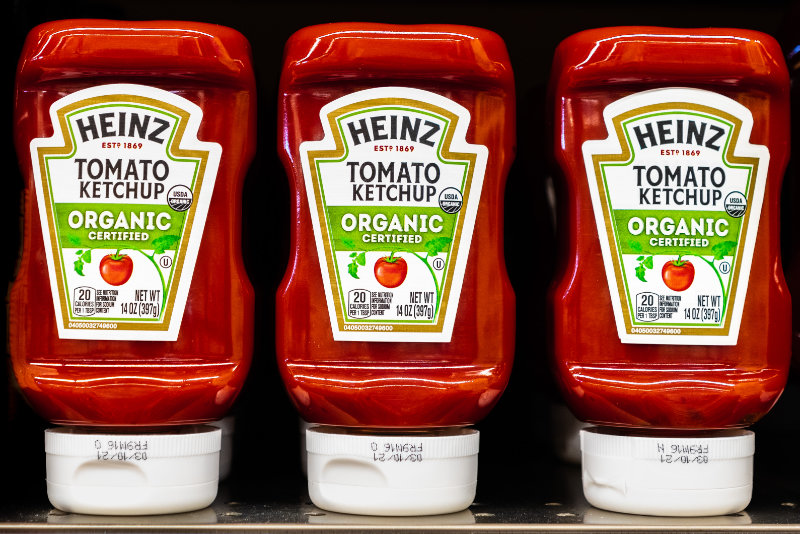 ketchup containers